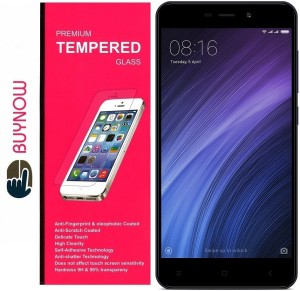 Buynow Tempered Glass Guard for Xiaomi Redmi 4A (5 inch)