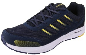 361068747e6c Action Campus Blue Yellow Colour Synthetic and Nylon Mesh Running Shoes