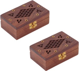 Craft Art India Combo Offer Home Decor Wooden Decorative Jewellery Storage Box