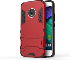 timeless design d4617 cf3a5 MECase Back Cover for Motorola Moto G5 PlusRed