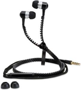 Rockzone Zipper Wired Headphones
