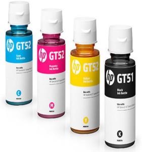 InkJet HP GT51 GT52 4 Color Set Genuine Official Original Ink Bottle For GT 5820 5810 Multi Color Ink