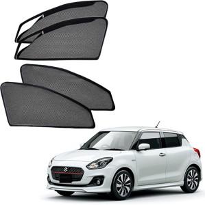 55da204f4 AdroitZ Side Window Sun Shade For Maruti Suzuki New Swift Black Best ...