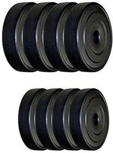 Protoner spare 20kg pvc weight lifting plates Gym & Fitness Kit
