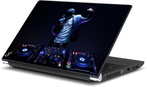 ezyPRNT DJ Music H (15 to 15.6 inch) Vinyl Laptop Decal 15