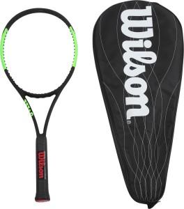 Wilson Blade 98 L 4 3/8 UnstrungBlack, Green, Weight - 285 g