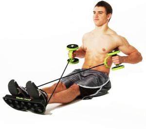 VibeX ® Multifunction Waist Equipment Home Fitness Roller Revoflex Xtreme Ab Exerciser