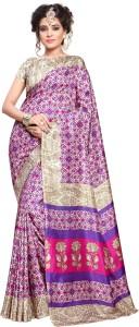 Yetnik Printed Fashion Art Silk Saree