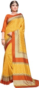 Yetnik Printed Fashion Art Silk Saree