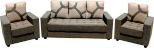 Knight Industry Fabric 3 + 1 + 1 multi colour Sofa Set