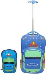 Fortune Kids Car Shape Cabin Luggage - 18 inch