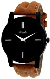 Mikado Brown Slim design watch for men's Analog Watch  - For Boys