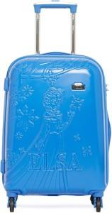 Gamme DISNEY BLUE FROZEN EMBOSS KIDS LUGGAGE TROLLEY BAG 20 INCH Trolley