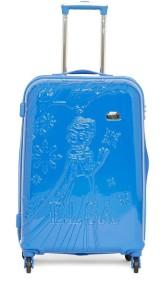 Gamme DISNEY BLUE FROZEN EMBOSS KIDS LUGGAGE TROLLEY BAG 24 INCH Trolley