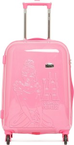 Gamme DISNEY PINK PRINCESS EMBOSS KIDS LUGGAGE TROLLEY BAG 20 INCH Trolley