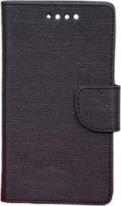 VES Flip Cover for XOLO Q700 Black available at Flipkart for Rs.376