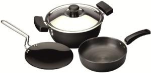 Usha Shriram Cookware Set pack of 3 Cookware Set