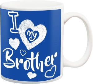 izor gift for brotheri love my brother and happy birthday bhai blue hd printed