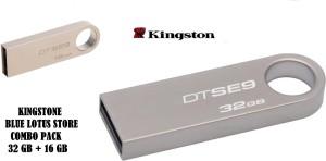 Blue Lotus Kingston DataTraveler Combo SE9 32+16 GB 32 GB Pen Drive