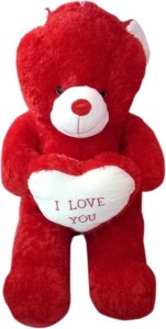 Red Teddy Bear 5 Feet, Smartoys 5 Feet Red Teddy Bear With I Love You Heart 153 Cm Best Price In India Smartoys 5 Feet Red Teddy Bear With I Love You Heart 153 Cm Compare