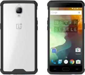 buy popular 2e3d9 e33ba Cubix Back Cover for OnePlus 3TBlack