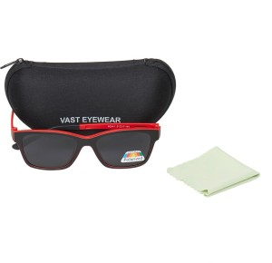 1a4521d6a4 Vast frame clip P004 black red Round Sunglasses Grey Best Price in ...