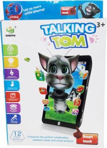 789a07fb33153 Firstep Talking Tom Interactive Learning Tablet Multicolor Best ...