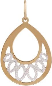 TBZ TheOriginal Nature Inspired 14kt Rose Gold Pendant