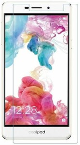 BIZ ONE Tempered Glass Guard for Coolpad Mega 2.5D