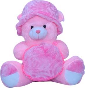 Kashish Trading Company KTC Pink Teddy Bear 14 Inch  - 14 inch