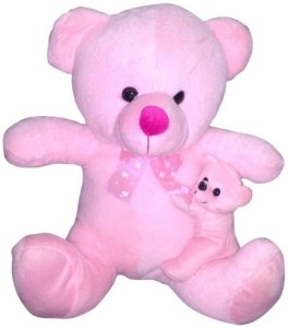 Besto teddy with baby  - 40 cm