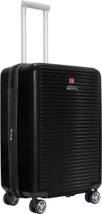 Swiss Military ALPHA SERIES POLYCARBONATE CABIN SIZE 20 INCH HARD TOP LUGGAGE Cabin Luggage - 20 inch Expandable  Check-in Luggage - 20 inch
