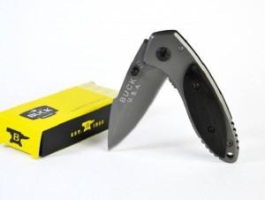 ENERZY BUCK FOLDING KNIFE GREY BLACK 1 Function Multi Utility Swiss Knife