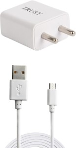 Trust 2A. Fast Charger with Charge & Sync USB Cable For Rdmi 3S Mobile Charger