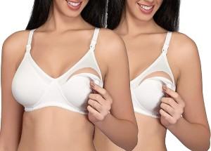 6681f701e8a Glus by Glupick MOM Women s Nursing White Bra Best Price in India ...
