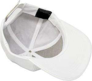 c70ab7b59b6 Babji White Leather HipHop Cap Best Price in India