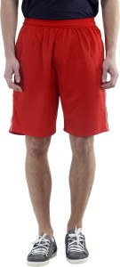 Dee Mannequin Solid Men's Red Basic Shorts