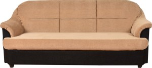 Furny Rowan Solid Wood 3 Seater Standard