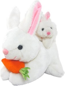 Gifteria Mother Rabbit with Baby  - 26 cm