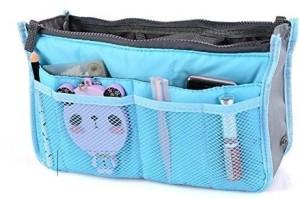 Shopo Handbag Purse Switcher Travel Pouch for Cosmetics Keys Card Wallet Travel Toiletry Kit