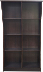 Eros Engineered Wood Open Book Shelf