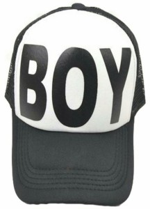 1ab99f9deb1 Friendskart Printed In White Colour Boy Cap Half Net Cap Trucker Cap ...