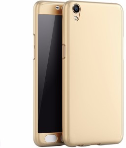 new product f134e 7da51 Mercator Front & Back Case for Oppo A37fGold