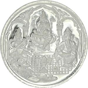 C. Krishniah Chetty Jewellers S 999 5 g Silver Coin