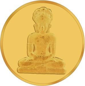 RSBL BIS Hallmarked Buddha Precious 24 (995) K 10 g Yellow Gold Coin