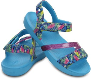 dbd602f7a Crocs Girls Slip on Sports Sandals Multicolor Best Price in India ...