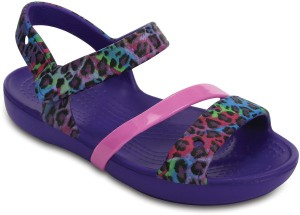 cf6086a8b420a Crocs Girls Slip on Sports Sandals Multicolor Best Price in India ...
