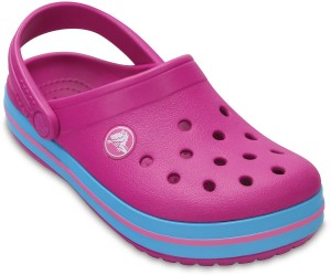 239061a5dc21 Crocs Girls Slip on Clogs Pink Best Price in India