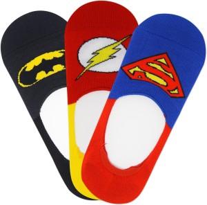 Justice League Men's No Show Socks
