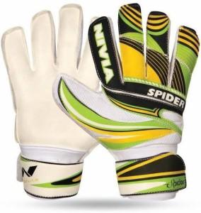 Nivia Spider Goalkeeping Gloves (M, Multicolor)